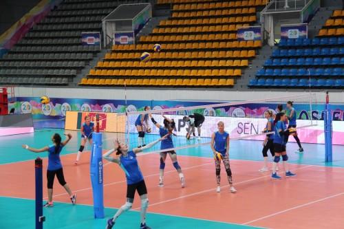 В Усть-Каменогорске стартовал чемпионата Азии по волейболу среди женских клубных команд