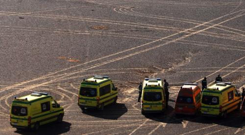 В результате взрыва у аэропорта Каира пострадало 12 человек