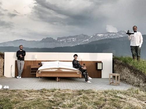 """В Швейцарии открылся отель категории """"ноль звезд"""""""