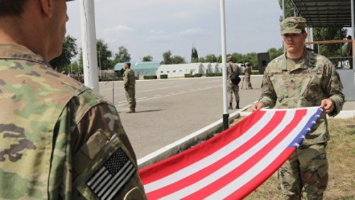 В Казахстане исключили возможность размещения военных баз США на Каспии