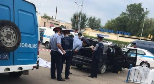 Труп мужчины нашли в багажнике в Астане: в ДВД сообщили подробности