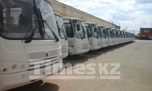 В Актобе к концу августа ожидаются новые автобусы и увеличение тарифа на проезд