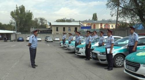 У полицейских Алматы отобрали служебные авто. Теперь они будут ходить пешком
