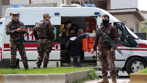 В Анкаре обстреляли американское посольство