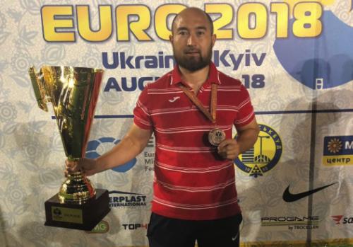 Акмолинец в составе сборной Казахстана завоевал «бронзу» на Чемпионате Европы по мини-футболу