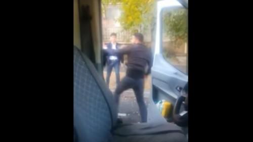"""Полиция примет меры к мужчине, напавшему на водителя """"скорой"""" в Алматы"""
