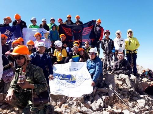 Одна из вершин Тянь-Шаня получила название «20 лет Астаны»