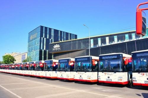 300 новых автобусов должны выйти на маршруты Шымкента уже в этом году