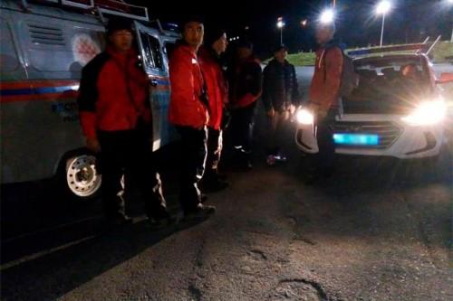 Молодая пара потерялась в горах курорта «Шымбулак»