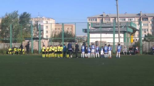 Юные акмолинцы отыграли 1-ый круг Первенства области по футболу
