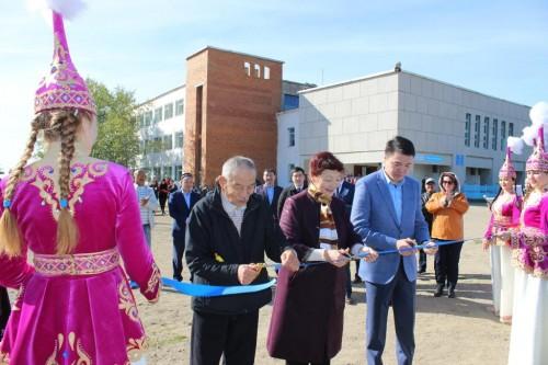 В степногорском регионе открыта новая спортплощадка