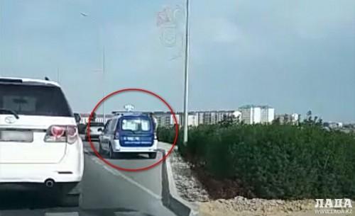 В Актау снимавшему на видео полицейских водителю грозит административная ответственность