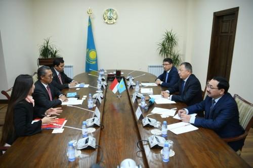 Индонезия и Казахстан расщиряют сотрудничество