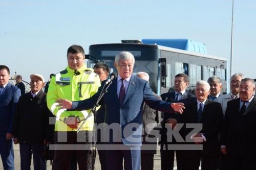 В Актобе открыли первый в Казахстане тоннельный путепровод
