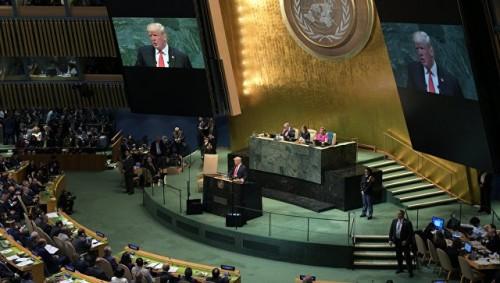 Выступление Трампа на Генассамблее ООН вызвало смех в зале