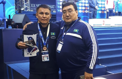 Акмолинский ветеран завоевал «бронзу» чемпионата мира по греко-римской борьбе в России