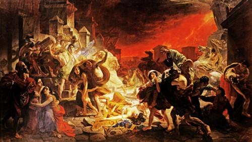 Археологи рассказали, как умирали жители Помпей при извержении Везувия