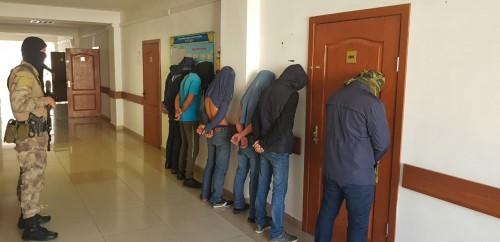 Две бандитские группировки обезвредили полицейские ДВД Туркестанской области