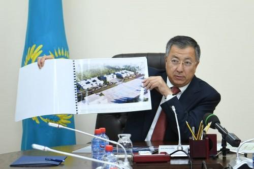 Аким Туркестанской области утвердил проекты строительства нового областного центра
