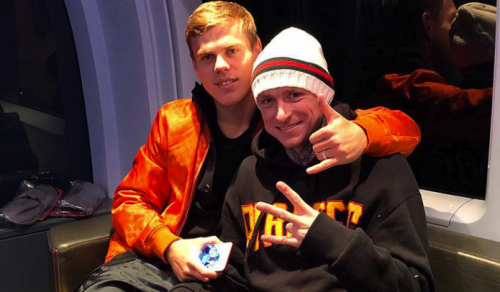 СМИ: Кокорин и Мамаев перед драками потратили в стриптиз-клубе 2,5 млн рублей
