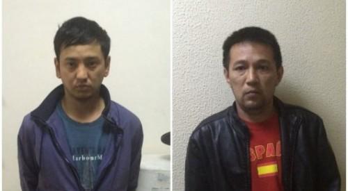 В Алматы обезвредили группу похитителей автозеркал