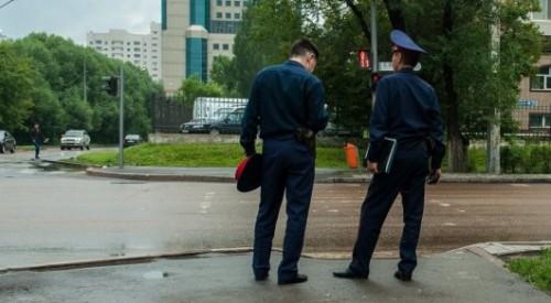Казахстанских полицейских оденут в другую форму