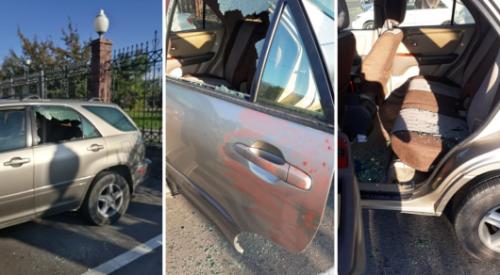 Алматинцы возмущены кражами из авто возле парка Первого Президента