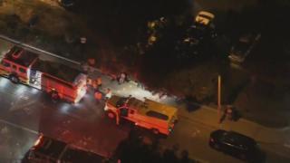 При стрельбе в Калифорнии погибли 12 человек, в том числе полицейский. Нападавший убит