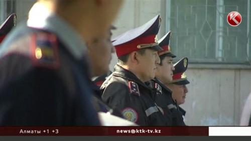 Казахстанские полицейские смогут таранить автомобили нарушителей