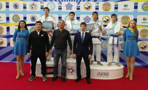 В Степногорске прошло Открытое Первенство по дзюдо
