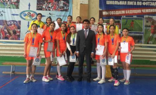 Акмолинские гандболистки стали третьими на Чемпионате Казахстана