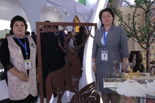 Жент в шоколаде привезли на межрегиональный форум актюбинские предприниматели