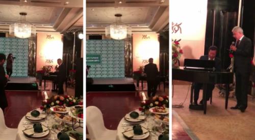 Имангали Тасмагамбетов спел романс: в Сети появилось видео