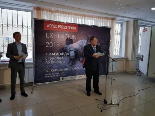 Всемирно известная выставка лучших фоторабот World Press Photo 2018 проходит в Караганде