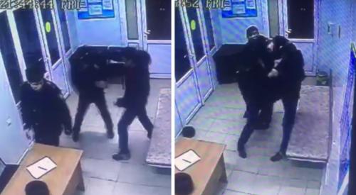 Мужчина подрался с полицейскими в наркодиспансере Алматы