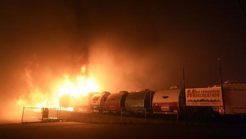 Число жертв пожаров в Калифорнии увеличилось до 71 человека