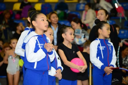 В Атырау завершился открытый чемпионат по художественной гимнастике «Звездочки Каспия»