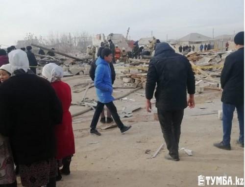 Озвучены предварительные версии взрыва частного дома в Жанаозене