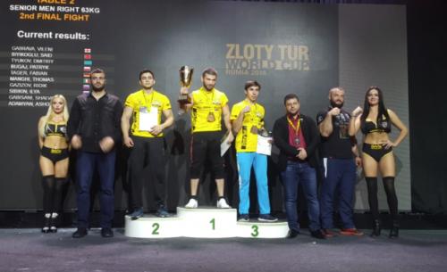 Воспитанник Ильи Ильина завоевал две награды Кубка мира в Польше