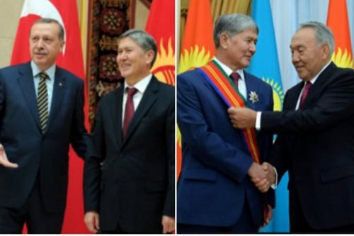Атамбаев рассказал о личных отношениях с Эрдоганом и Назарбаевым