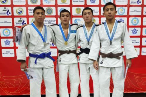 Дзюдоисты из Степногорска стали призерами международного турнира