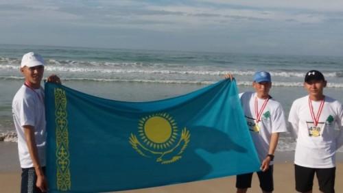 Казаxстанские миротворцы одержали победу в марафоне в Ливане