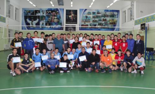 В Бурабае прошел чемпионат Акмолинской области по волейболу