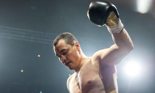 Казахстанский супертяж в первом раунде нокаутировал двухметрового боснийца