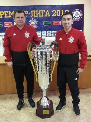 Мини-футбольная команда «Актобе» впервые в своей истории завоевала Кубок Казахстана