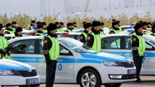 Сотрудникам дорожно-патрульной службы РК увеличат зарплату на 65%