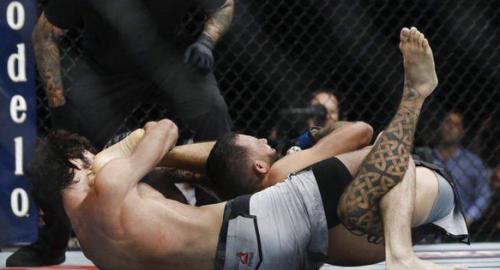 UFC признал прием российского бойца лучшим в году