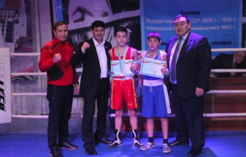 31 медаль завоевали акмолинцы на республиканском турнире по боксу