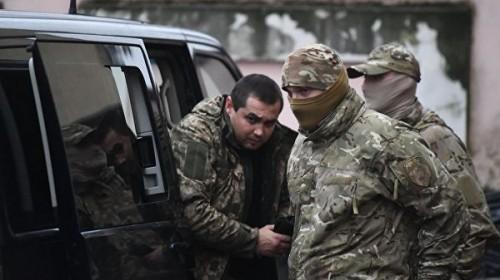 Россия допускает возможность обмена украинских моряков