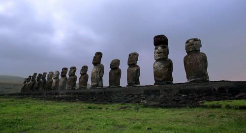Раскрыта тайна статуй на острове Пасхи